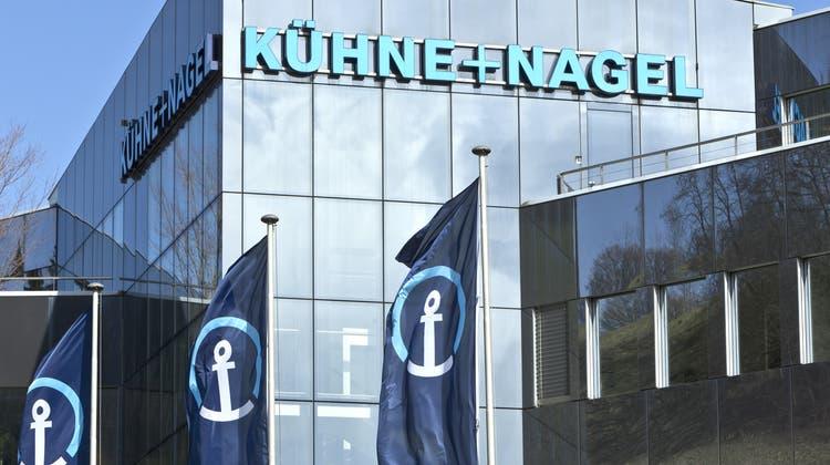 Krise als Chance: Kühne + Nagel hat in den letzten Monaten intensiv an Lösungen für die Impflogistik gearbeitet. (Keystone)