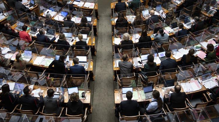 Der Nationalrat verzichtete darauf, am Dienstag über das Geldwäschereigesetz zu debattieren. (Symbolbild) (Keystone)