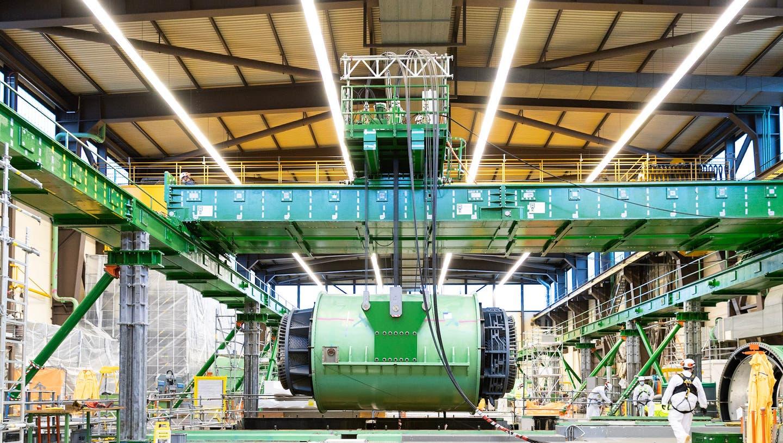 Mammutprojekt: Mühleberg ist das erste Kernkraftwerk der Schweiz, das rückgebaut wird. (zvg)