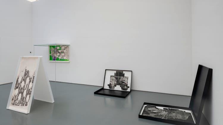 Cédric Eisenring (*1983)bekommt einenWerkbeitrag für seine mehrteilige Arbeit mit alten Drucktechniken. (René Rötheli)