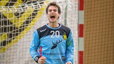 Hielt in der Schlussphase stark: Goalie Jonas Kindler. (Michel Canonica)