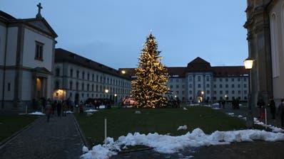 Weihnachtswanderungvon Notkersegg zur Klosterwiese