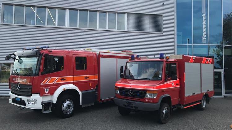 Feuerwehr ist jetzt top ausgerüstet