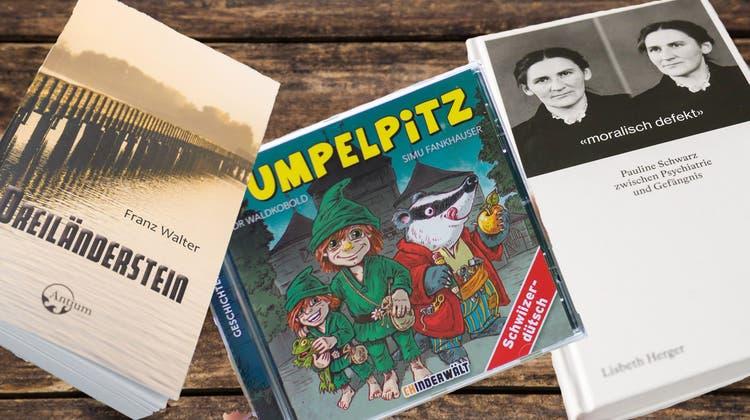 Zwei Bücher mit Solothurner Bezug und eine Kinder-CD als Geschenktipps
