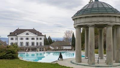 Das Schloss Eugensberg oberhalb von Salenstein. Der Verkaufserlös floss in die Konkursmasse Rolf Erb. (Archivbild). (Bild: Key/Gian Ehrenzeller)