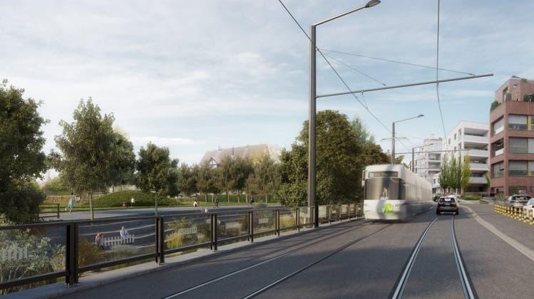 Für die nächste Glattalbahn-Etappe ist die Bahn frei: Die Regierung genehmigt 27 Millionen für sie