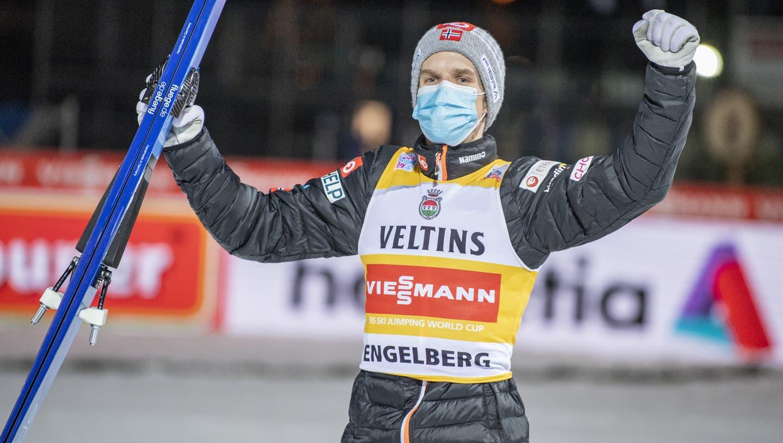 Gregor Deschwanden macht ein 27. Platz im Weltcup inzwischen nicht mehr glücklich. (Gian Ehrenzeller / KEYSTONE)