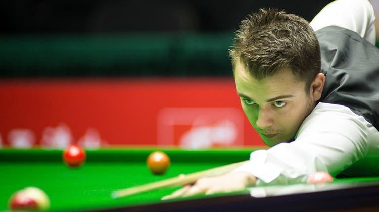 Zwei Tage nach Sensationssieg gegen Weltmeister: Für Aargauer Snooker-Profi sind die UK Championship zu Ende