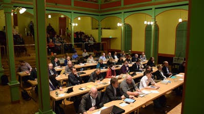 Das Stadtparlament tagt am Donnerstag zum letzten Mal in der Legislatur 2017 bis 2020. (Bild: PD (11. Januar 2019))