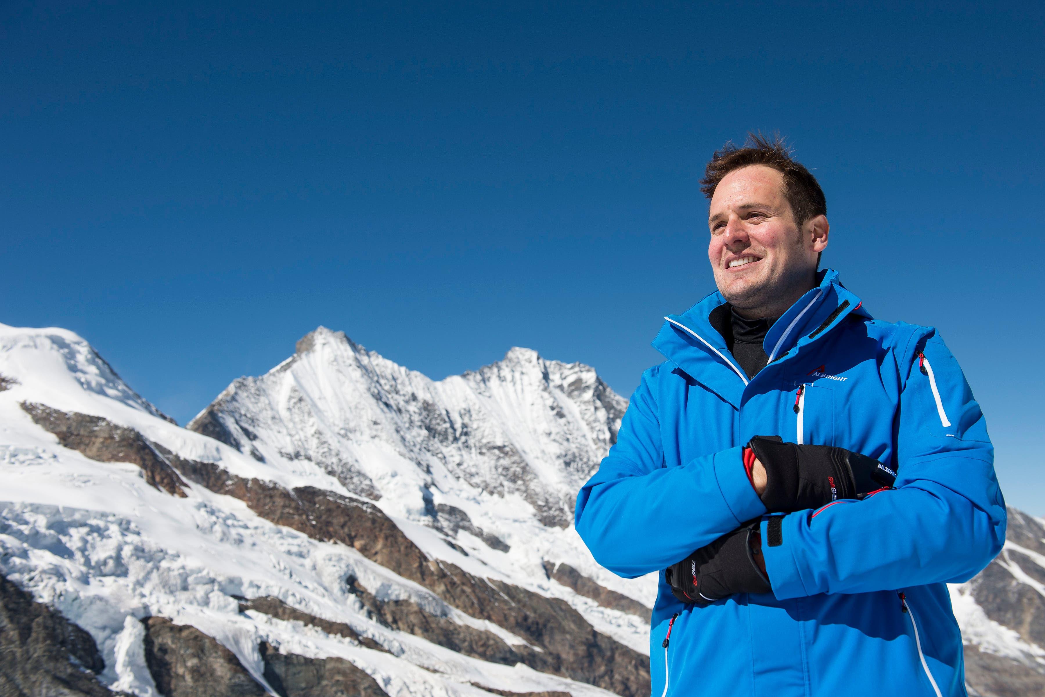 Der ehemalige Skifahrer Daniel Albrecht erlitt bei einem Rennen schwere Kopfverletzungen.