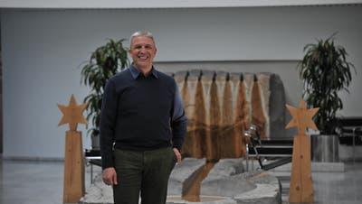 Hat ein anstrengendes Jahr hinter sich: Patrick Csomor, Leiter des Gesundheitsamtes Obwalden. (Bild: Urs Hanhart (Sarnen, 18. Dezember 2020))