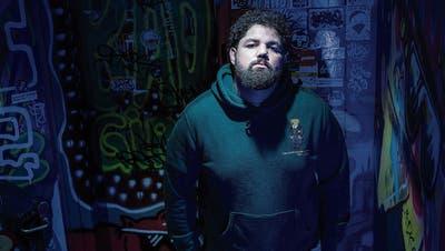 Shaquille Bernhard alias Rapture Boy hat den Nachwuchswettbewerb «bandXost» gewonnen. (Bild: Tobias Garcia)
