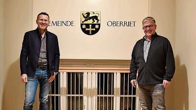 Oberriet verabschiedet zwei Gemeinderäte