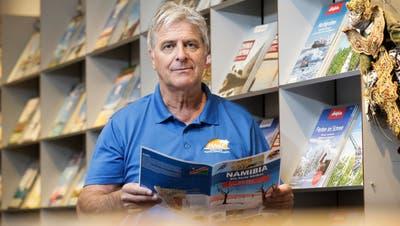 Roman Mattle, Inhaber des ReisebürosMawi Reisen AG, vertritt das Komitee «Thurgauer Reisebüros in Not». (Donato Caspari, 10. November 2020)