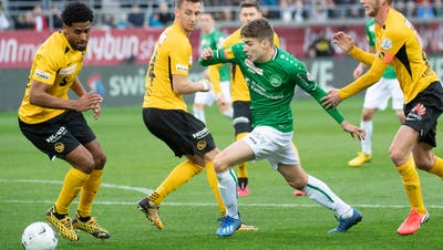 Tim Staubli später Anschlusstreffer reicht nicht– Der FCSt.Gallen unterliegt Meister YB 1:2