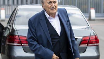 Strafanzeige der FIFA gegen Sepp Blatter