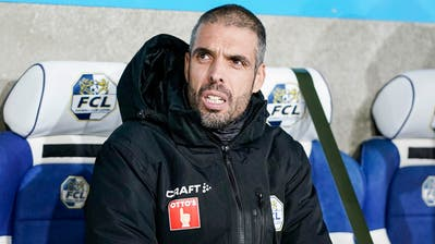 FCL-Trainer Fabio Celestini musste einmal mehr eine komische Niederlage erklären. (Bild: Martin Meienberger)