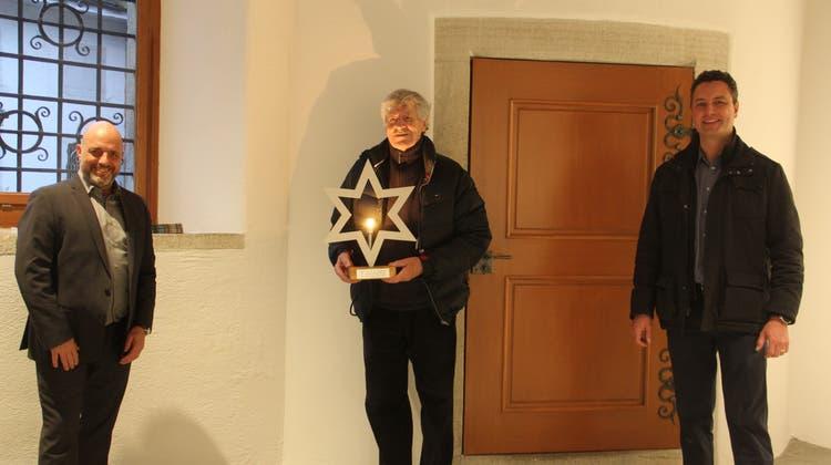 Ein Stern für den Gestalter der neuen Weihnachtsbeleuchtung