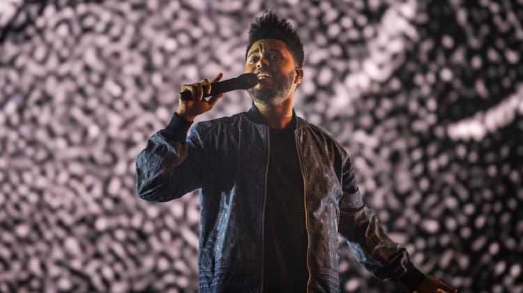 Der Song «Blinding Lights» des kanadischen R&B-Künstlers The Weeknd (hier bei einem Auftritt 2017 am Open Air Frauenfeld) war der meistgestreamte Song 2020 in der Ostschweiz. (Bild: Andrea Stalder)