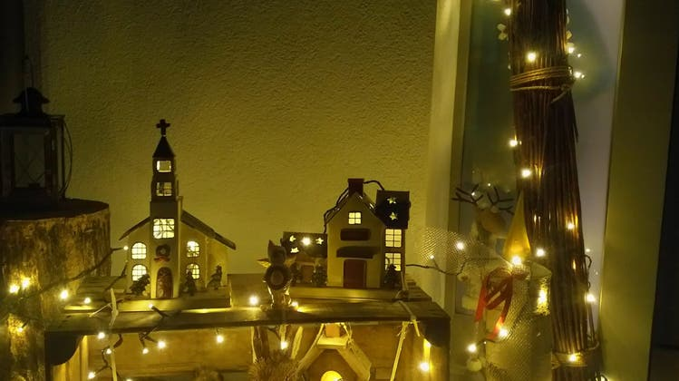 Kirchdorf leuchtet im coronageprägten Advent