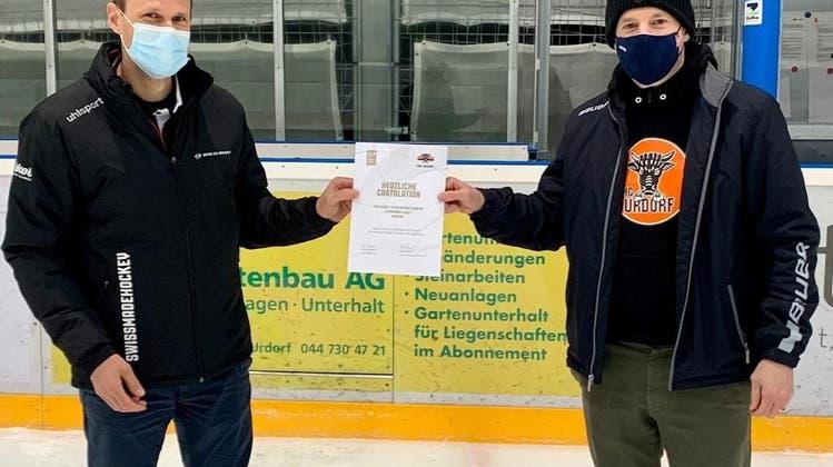 EHC Urdorf zählt punkto Nachwuchsarbeit zu den besten Klubs der Schweiz