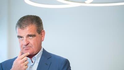 Ist vom Verwaltungsgericht Malmö gebremst worden: Stadler-Chef Peter Spuhler. (Bild: Urs Bucher (Bussnang, 5. März 2020))