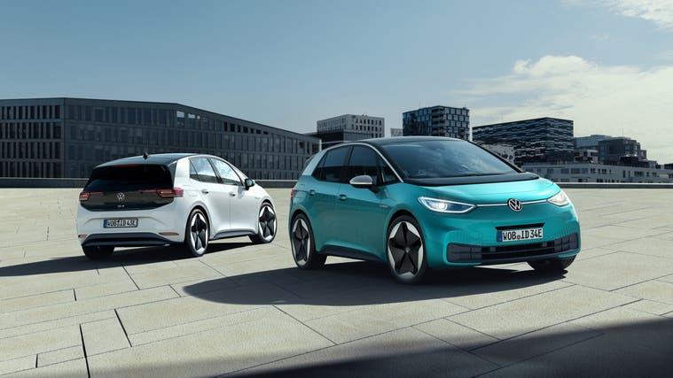 Eine der wichtigsten Neuheiten 2020: Der VW ID.3 (Bild: HO)