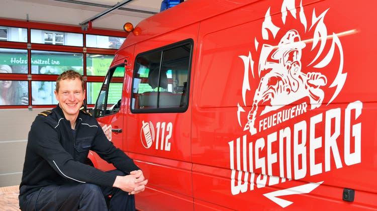 Jetzt rücken seine Kameraden aus: Roland Nussbaumer schliesst das Kapitel Feuerwehr ab