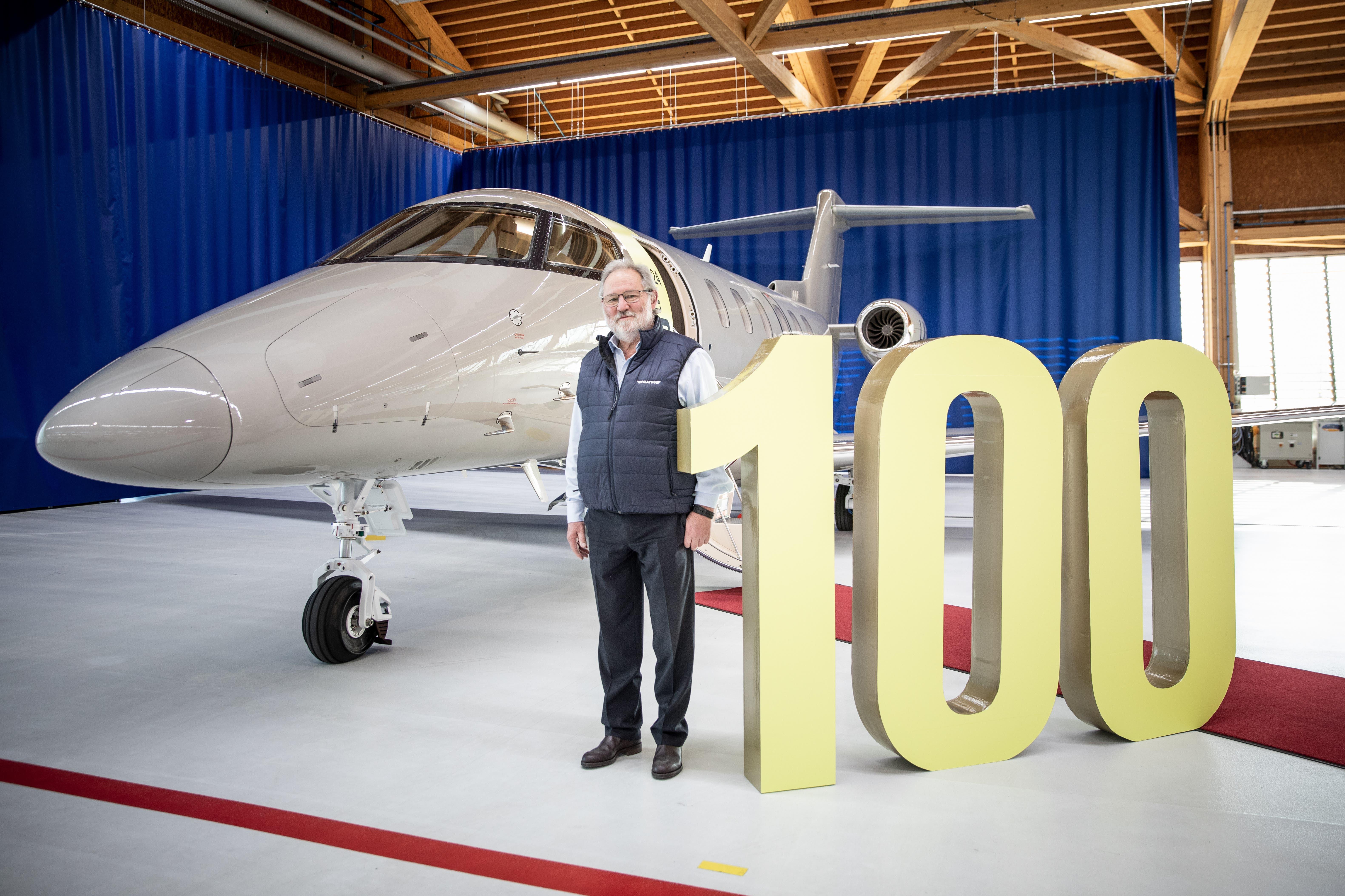 Anfang 2021 wurde ein Meilenstein erreicht. Der Stanser Flugzeughersteller konnte den 100. PC-24 an einen Kunden ausliefern.