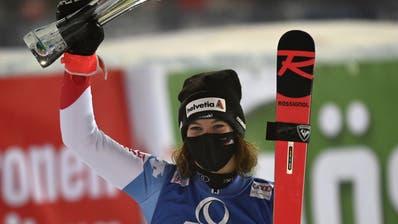 Michelle Gisin ist die erste Schweizer Slalom-Siegerin seit fast 19 Jahren