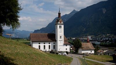 Gemeinde Attinghausen fotografiert am 10. Juli 2018. Kirche (Corinne Glanzmann (lz) / Urner Zeitung)