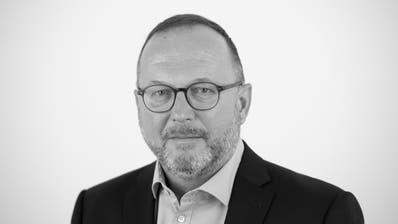 """Daniel Wirth, Leiter der Stadtredaktion des """"St.Galler Tagblatts"""". (Ralph Ribi)"""