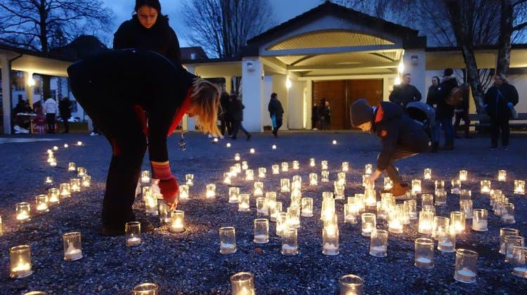 Caritas Aargau macht mit Solidaritätsaktion auf Armutsbetroffene aufmerksam