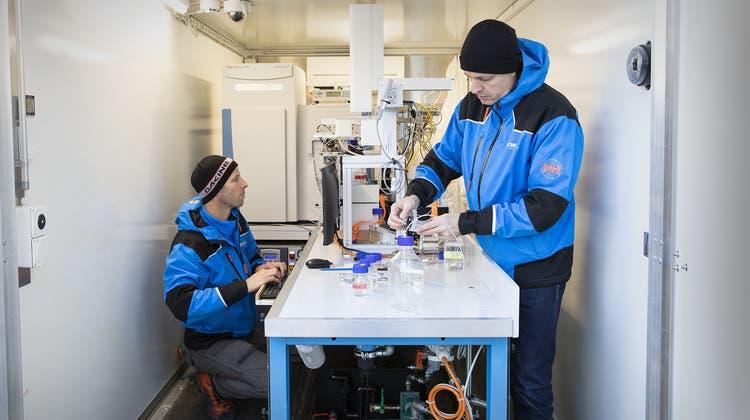Das fahrbare Wasserlabor soll künftig als tragbares Minilabor zur Verfügung stehen. (Eawag)