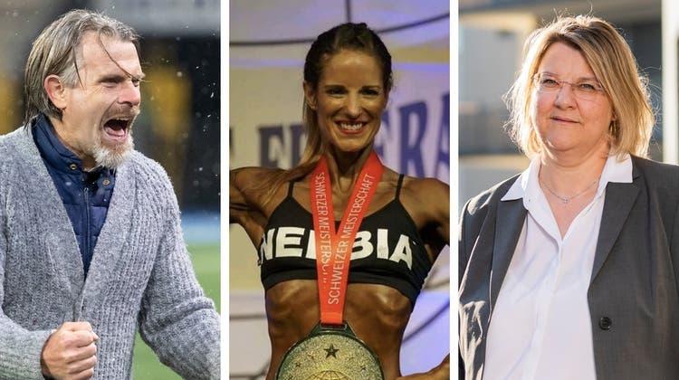 Trainer, Ärztin, Politikerin oder Banker: Diese acht Personen sind die «Aargauer Aufsteiger des Jahres» 2020