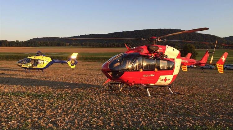 Helikopter-Streit dauert an: Wann soll im Aargau der gelbe AAA-Heli, wann die Rega aufgeboten werden?
