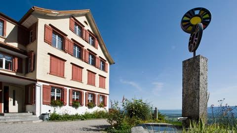 Das ehemalige Sozialheim Sonneblick in Walzenhausen wird nun Asylsuchende aufnehmen. (Bild: Martina Basista)