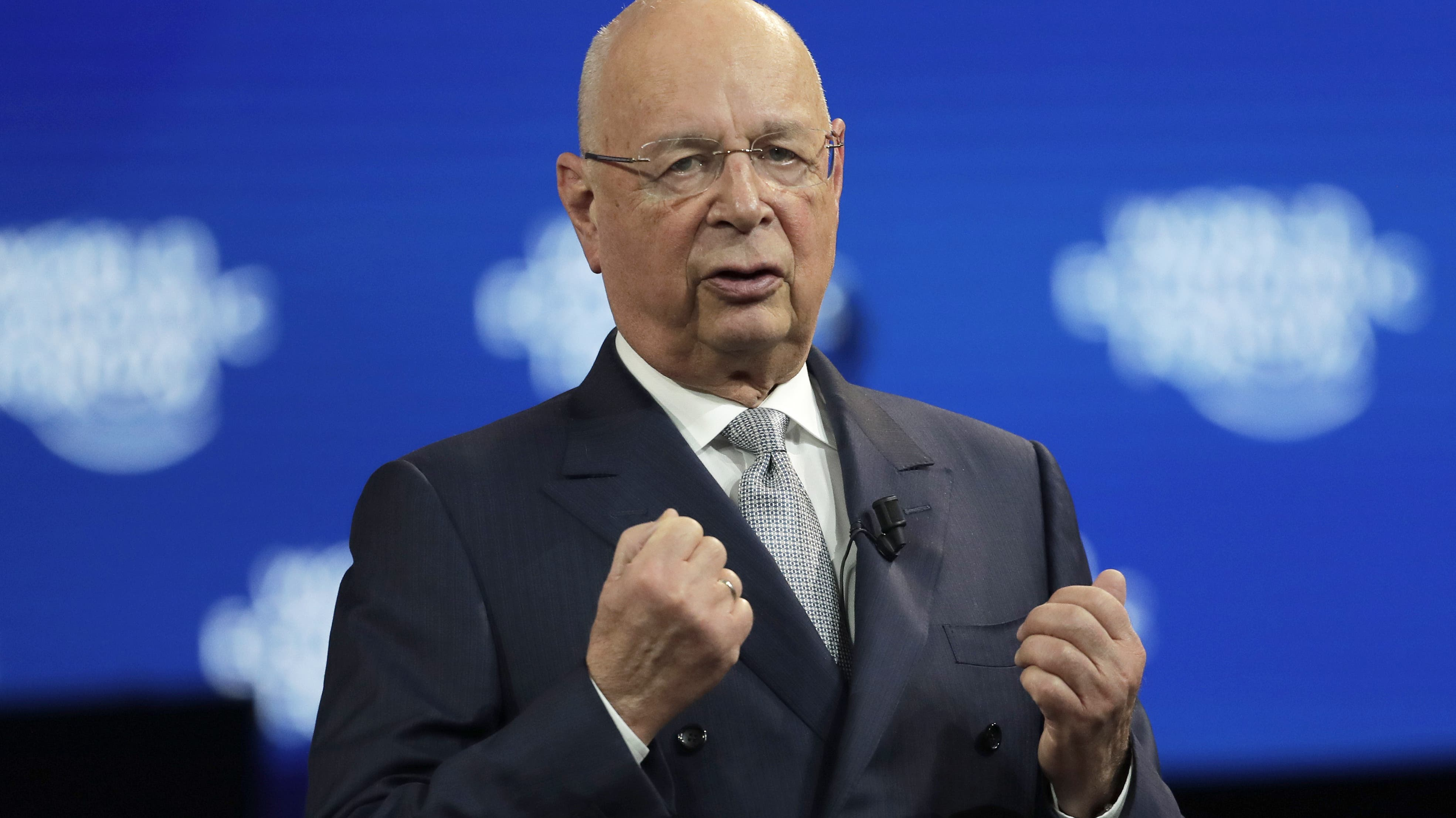 Klaus Schwab, Gründer des Weltwirtschaftsforums.