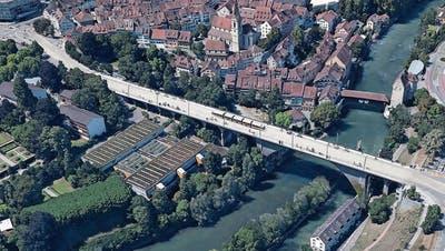 Hochbrücke wird saniert – kann aber Limmattalbahn nicht tragen