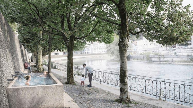 Heisser Brunnen: Wasservertrag besiegelt