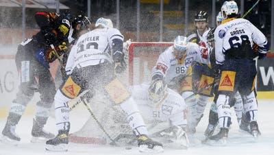 4:1-Sieg gegen Bern: Der EV Zug kann sich auf seinen Goalie Luca Hollenstein verlassen