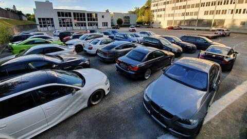 Eine Auswahl an Autos, welche die Luzerner Strafverfolgungsbehörden sichergestellt haben. (Bild: Staatsanwaltschaft Luzern)
