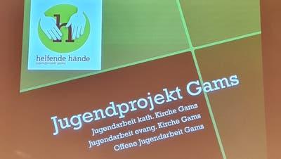 Seit zehn Jahren ist «helfende Hände» ein Gamser Jugendprojekt, vielleicht wird's bald regional. (Bild: PD)