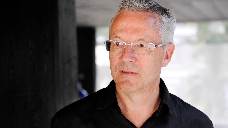 Valerio Olgiati aus Flims GR wird Kanye West's Hausarchitekt. (Bild: Jo Diener)