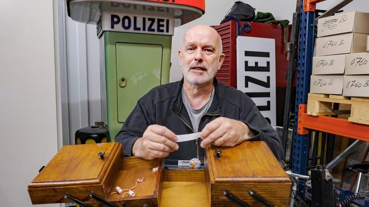 Wachtmeister Daniel Vogt über seine grösste Passion: «Das Basler Polizeimuseum ist mein Baby»