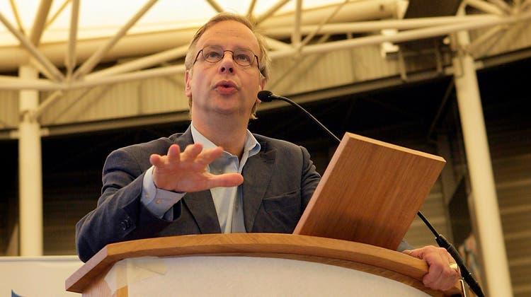 Seit einem Jahrzehnt präsidiert Andreas Burckhardt den Verwaltungsrat der Bâloise Holding. Nun will er kürzer treten. (Keystone)