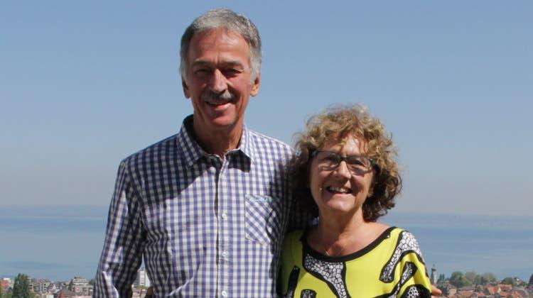 Das EhepaarBruno und Felicitas Eisenring wohnt in Rorschach. (Bild: Martin Rechsteiner)
