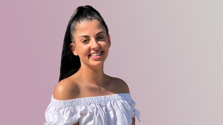 Sara Costantino, Tochter von Pizzaiolo Luigi «Gigi»Costantino, aus Suhr hat eine KV-Lehre gestartet. (Bild: PD)