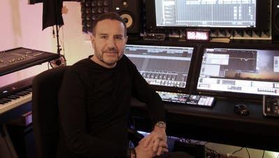 Peter Stöckli alias Peach in seinem Tonstudio. (Bild: PD)
