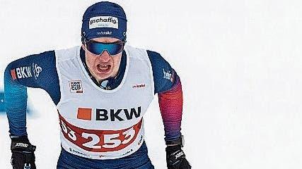 Dem Obwaldner Langläufer Janik Riebli glückt der Saisonauftakt